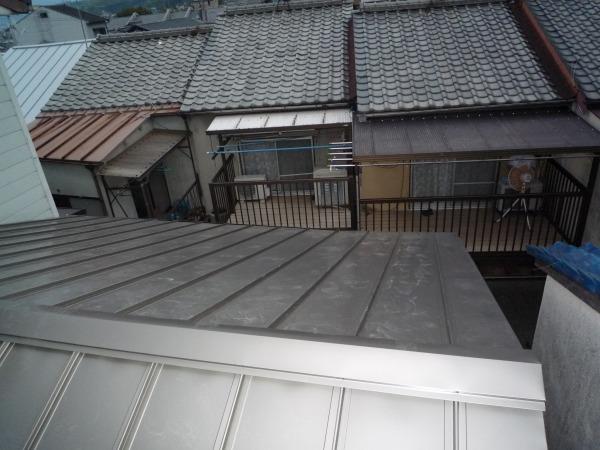 山科区川田町 屋根改修工事